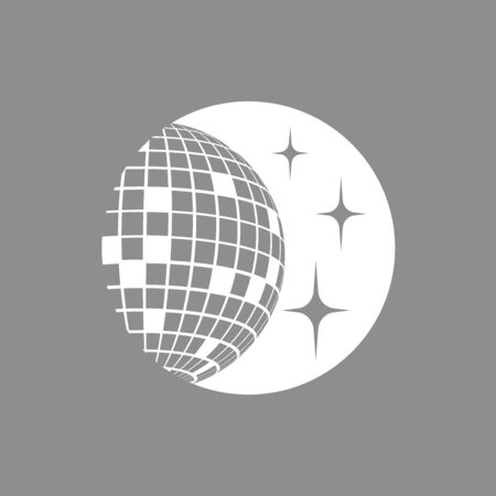 Disco ball Vector icon Disco ball Vector icon Disco ball Vector icon