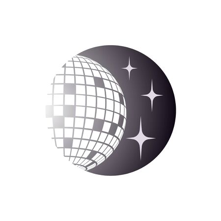 Disco ball Vector icon Disco ball Vector icon