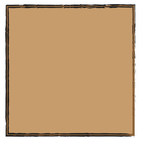 The paper background is dull-brown with an unusual stroke, behind which the same background is only darker
