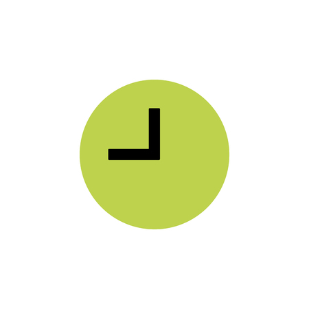 Clock icon in trendy flat style isolated on background. Clock icon page symbol for your web site design Clock icon logo, app, UI. Clock icon Vector illustration