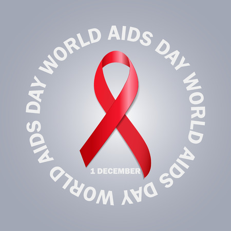 aids: The World Aids Day Illustration