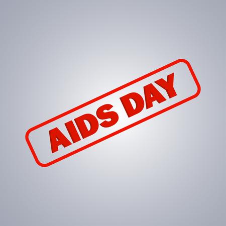 health threat: The World Aids Day Illustration