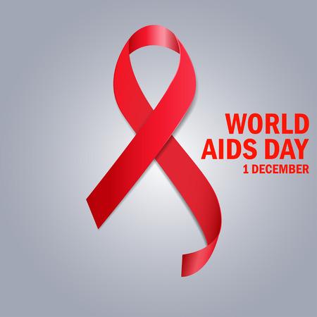 aids virus: The World Aids Day Illustration