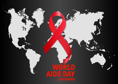 immunodeficiency: The World Aids Day Illustration