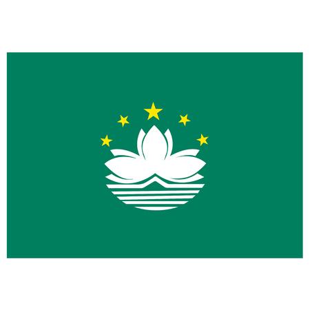 estrellas cinco puntas: Bandera de Macao