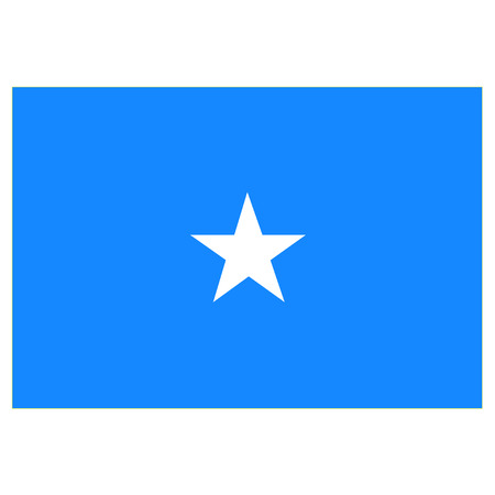 somalia: Flag of Somalia Illustration