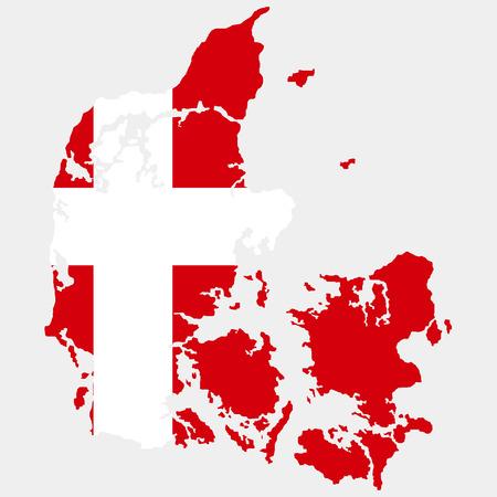 danish flag: Territory of Denmark