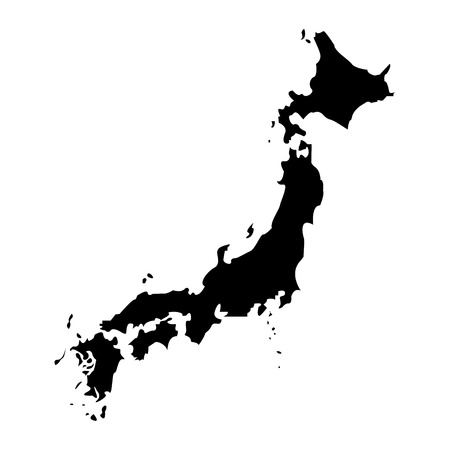 territory: Territory of Japan on a white background Illustration