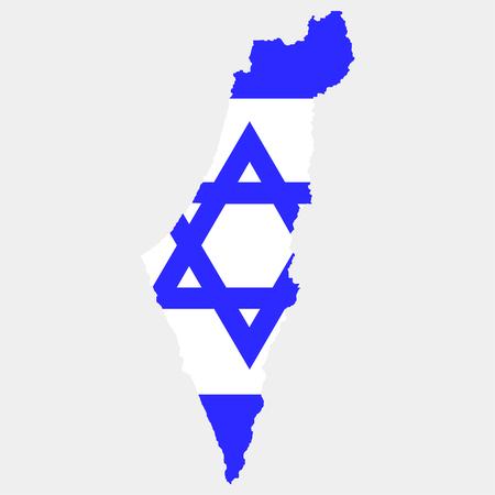 Territory of Israel Illustration