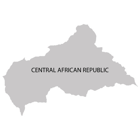 central african republic: Territory of Central African republic Illustration