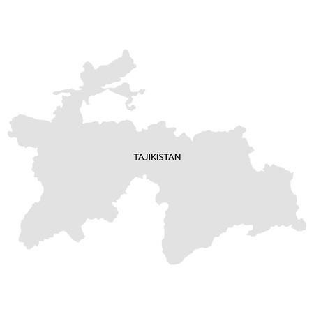 territory: Territory of Tadjikistan Illustration
