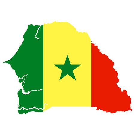 territory: Territory and flag of Senegal
