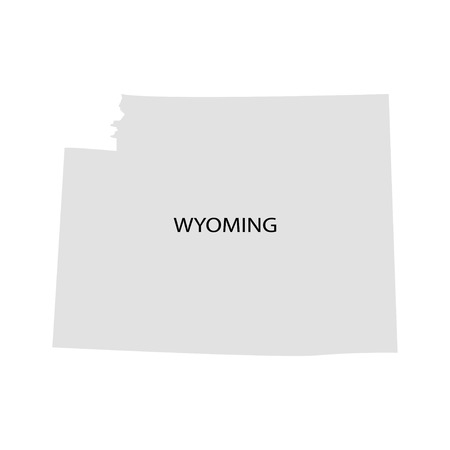 territory: Territory of Wyoming Illustration