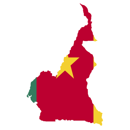 territory: Territory and flag of Cameroon