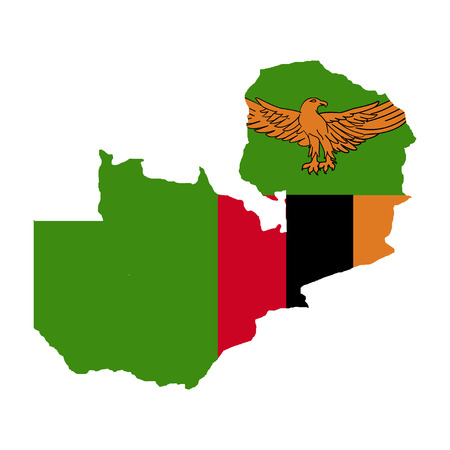 Territory and flag of Zambia