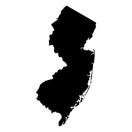 jersey: Territory of New Jersey Illustration