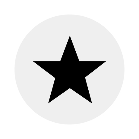 Five-point star icon