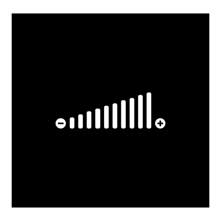 Volume adjustment icon Ilustrace