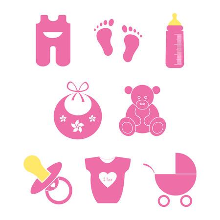 Baby shower Illustration