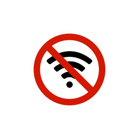 Ban on wi-fi Illustration