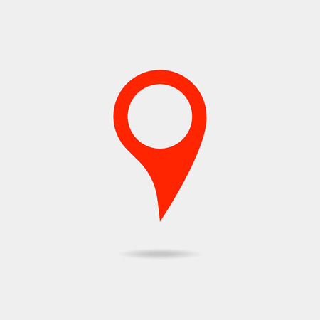 web directories: Map pointer icon