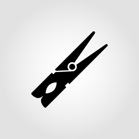 Clothespeg icon Illustration