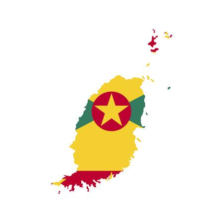 Territory and flag of Grenada