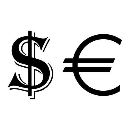 Currency symbols icon