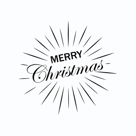 Christmas design greeting card.