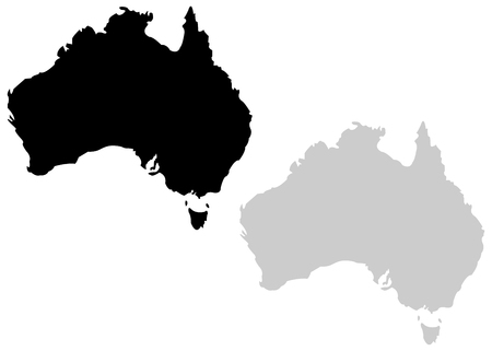Territory of Australia on a whte background