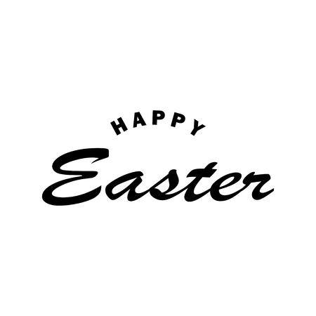 Easter holiday celebration. Christ is Risen. Christ is risen from the dead. Vector illustration isolated on white background
