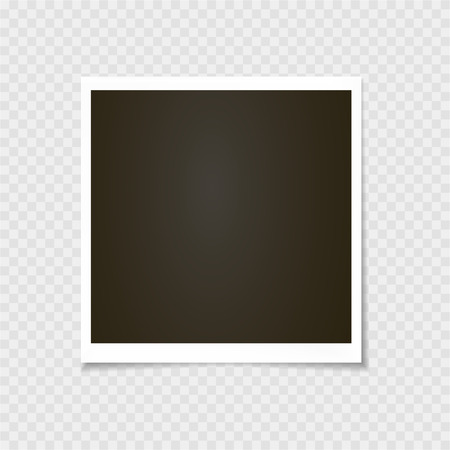 Photo frame.  vector. Template. Vector illustration 矢量图像