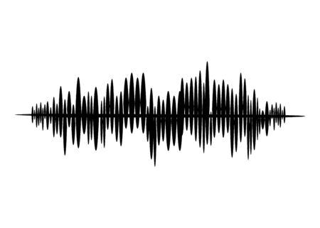 Earthquake. Richter earthquake magnitude scale. Vector illustration. EPS 10 Vettoriali