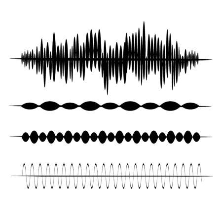 Earthquake. Richter earthquake magnitude scale. Vector illustration. EPS 10