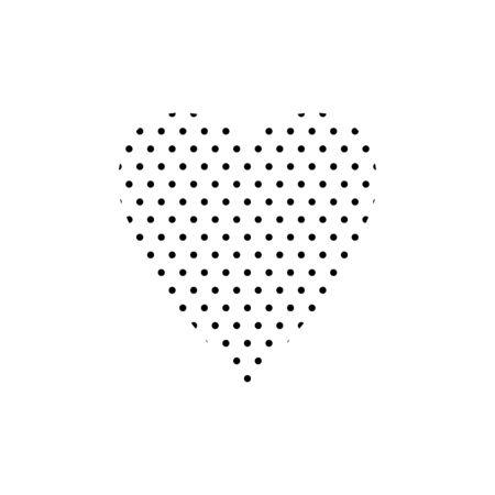 Heart form pattern. Design element for wallpapers, wedding invitations, greeting cards, valentine cards. Vector illustration. EPS 10 일러스트