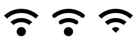 Wireless technology. World technology. Vector illustration
