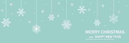 Merry Christmas and Happy New Year. 2021. Ilustração