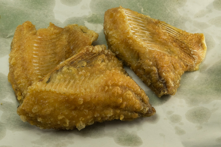 fish fry: Dried Fish Fry Stock Photo