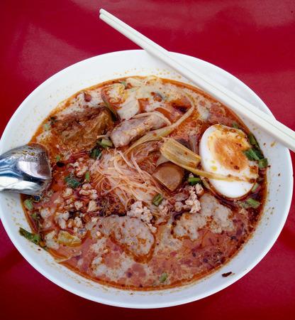 thai noodle: Thai Noodle Soup