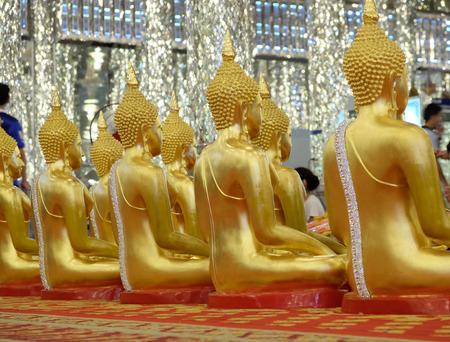 praye: View of buddha statue Stock Photo
