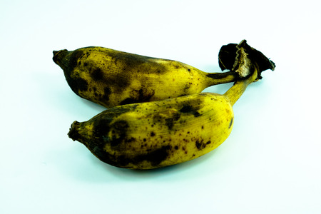 wasteful: Over ripe bananas