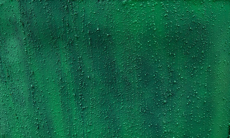 diamondplate: seamless black and green metal background Stock Photo