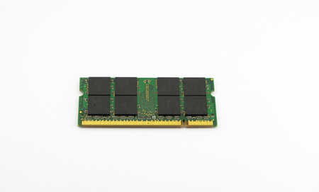 dimm: RAM notebook on a white background Stock Photo