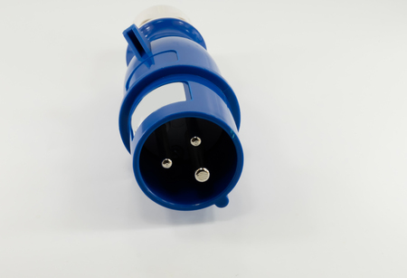 Electric plastic power plug and various sockets with cap isolated