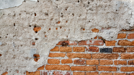 aging: Brick wall background