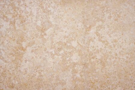 Smooth spotted texture depicting the stone surface of beige limestone tuff, serving as a background. Imagens