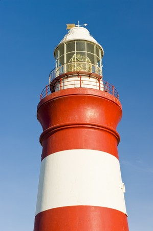 oldest: The second oldest and Southern-most lighthouse in Africa at Cape Aghullas, built in 1848.