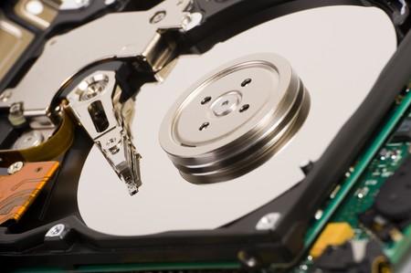 Hard disk drive photo