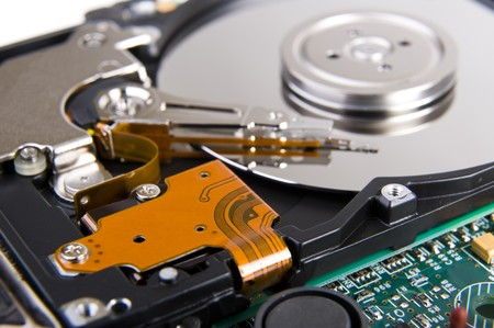diskdrive: Hard disk drive Stock Photo
