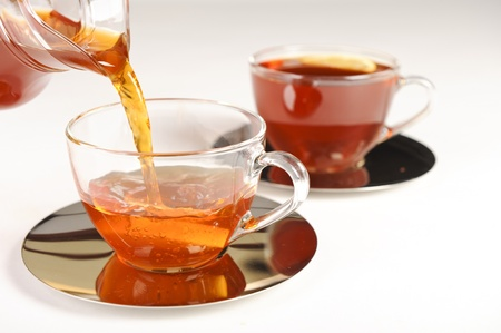 antioxidant: Antioxidant rich healthy herbal tea from the Western Cape region in South Africa. Stock Photo